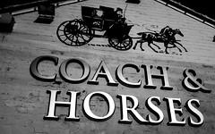 2017_002 (Chilanga Cement) Tags: fuji fujix100t x100t xseries x100s x100 coach horses carriage cheshire pub inn gable metal steel