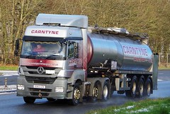 MB - CARNTYNE Transport Glasgow (scotrailm 63A) Tags: lorries trucks tankers