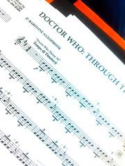 Projet 365-3 - 140/365 (Supernico26) Tags: orchestre partiton harmonie doctorwho