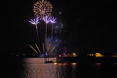 Hythe Fireworks 2 (David Blandford photography) Tags: hythe pier fireworks southamptonwater southamptondocks hampshire arcadia cruise liner