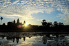 First Sunrise of 2017 (manateedugong) Tags: cambodia siemreap angkorwat morning sunrise sky bluesky newyear celebration