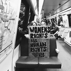 women's march on washington (mennyj) Tags: washington dc march women marchonwashington fucktrump notmypresident strengthinnumbers pink signs protest hats movement resistance pussypower support truth nationalmall district rights pride bigly together crowd fangsout metro yellowline