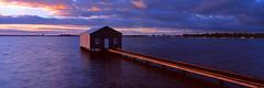 Crawley Light (Martin Canning) Tags: 617 australia crawley crawleyboatshed epsonv700 fuji fujig617 g617 martincanning martincanningcom matildabay perth westernaustralia boatshed film panorama panoramic sunrise velvia velvia50
