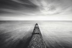 South South West (Sarah_Brooks) Tags: mono monochrome bw blackandwhite le longexposure beach dorset