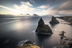 Duncansby Head (Grant Morris) Tags: duncansbyhead duncansbystacks scotland coast waterscape waterfront water longexposure clouds sunrise sunriseoverwater grantmorris grantmorrisphotography canon