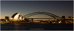 Sydney Harbour, Australia (CvK Photography) Tags: australia autumn canon city cityscape color cvk fall holiday newsouthwales night reflection sydney sydneyharbourbridge sydneyoperahouse sdyneyharbourbynight sunset