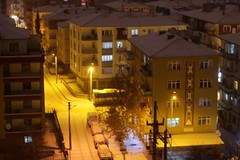 #snow #winter #Turkey #Ankara #explorer #canon #travel #street #lamp #white #yellow  #photographer #cars #enjoy #relaxing #cityscape #whitecity #night #relax #freeze #black #l4l #f4f #follow #like #life #lights (tuvanatk) Tags: black night enjoy canon relaxing freeze white explorer street relax whitecity photographer turkey cityscape cars lamp ankara yellow snow travel winter lights f4f