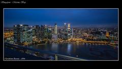 Singapour - Marina Bay -19 décembre 2014-04 (christianrenou) Tags: nuits singapour asie skyline