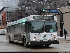 Winnipeg Transit #496 (vb5215's Transportation Gallery) Tags: winnipeg transit 1999 new flyer d40lf