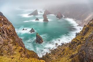 Sea Stacks, Mangersta, Isle of Lewis, Outer Hebrides, Scotland