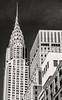 Chrysler Building on a Sunny Afternoon (LJS74) Tags: chryslerbuilding lexingtonave manhattan midtown newyorkcity newyork nyc skyscraper historicbuilding artdeco buildings texture blackandwhite blackwhite bw monochrome cityscape