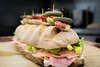Superbowl Sub (John. Blakey) Tags: ifttt 500px food bread lunch delicious sandwich homemade semolina