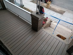 2017-02-28 14.08.52 (whiteknuckled) Tags: frontporch ouroldrowhouse porch front yard exterior deck decking railing outside