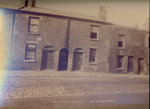 Hughes' Cottages, 85-91 Leicester Street – 1891