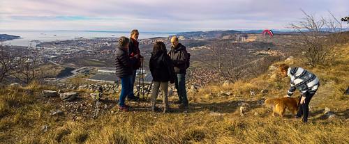 Vista su Trieste - Italy