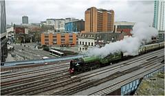 Tornado Hits Cardiff (Welsh Gold) Tags: 60163 tornado lner class a1 peppercorn locomotive 1z65 london paddington cardiff st david steam excursion