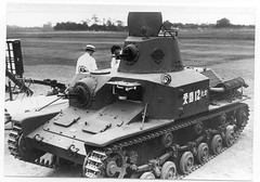Type 92 Jju Sokosha Tankette of the Imperial Japanese Army, 1935
