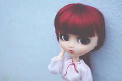 Miyuki - Pullip Bloody Red Hood (Dragonella~) Tags: red hair nikon doll dolls outdoor redhead hood groove pullip bloody brh obitsu rewigged d5100 pullipobitsu bloodyredhood pullipbloodyredhood dragonella