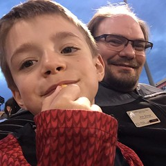#Malikai and I at the #SkySox game. / on Instagram https://instagram.com/p/7RVuQPMmho/
