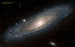 M31 The Andromeda Galaxy 24-08-2015 small (アラゴーン デイヴィズ) Tags: theandromedagalaxy m31galaxy m31 ngc224 m110 m31theandromedagalaxy