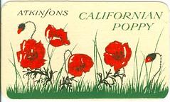 """Calendario para 1929 propaganda """"Californian Poppy"""" Zurich. (Anverso) (gubama) Tags: propaganda californianpoppy 1929 calendario atkinfons calendariopara1929"""