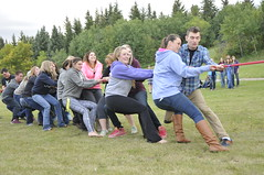 Vermilion Beach Party Sept 8 2015 (Lakeland College) Tags: park party college beach gamma frisbee volleyball sa vsa lakeland vermilion provincial tugowar