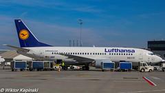 D-ABEF Lufthansa Boeing 737-330 (wiktorkepinski) Tags: canon photography airport weekend apron airbus boeing kraków dni spotting aerospace pps chillout krk bombardier jetliner weeknd otwarte epkk
