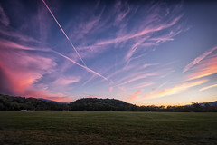 Autumn's first sunset (Michael Kline) Tags: sunset virginia september salem greenhillpark 2015