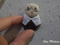 Padre Giocondo (analuciamateus) Tags: artesanato fuxico padre giocondo