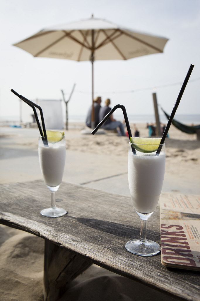 Image result for paintings or artwork cocktail with two straws and a parasol