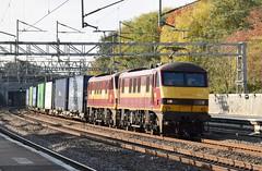 90020+90039 (Lukas31 Transport Photography) Tags: railway trains tamworth ews class90 90020