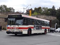 Toronto Transit Commission 9417 on Line 1 Shuttle (Orion V) Tags: ttc