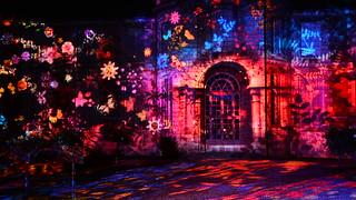Chartres en Lumières 2015 - Musée des Beaux-Arts, Façade d'Honneur