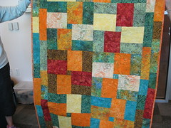 "Johnne:  ""Bright"" fat 1/4 challenge (roaringforkquiltguild) Tags: july23"