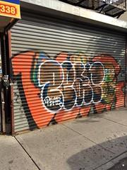 Heavy Beef on DeKalb and Knickerbocker (4rilla) Tags: brooklyn graffiti pear bushwick kez