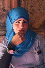 Young Egyptian Woman, Mosque of Muhammad Ali, Cairo, Egypt, 2015 (travfotos) Tags: woman egypt cairo egyptianwoman mosqueofmuhammadali mosqueofmohamedali