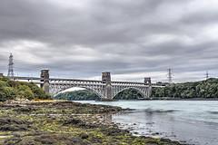 Britannia Bridge, Menai Straight, North Wales. (MarkWoods2) Tags: wales bridges angelsey northwales menaistrait britanniabridge