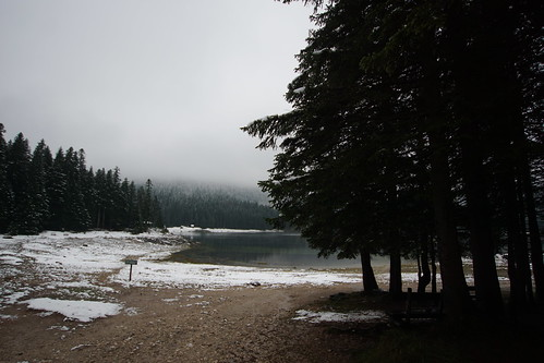 Snow at the Black Lake