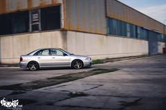 Audi A4 B5 1.9 TDI. (Stefan Sobot) Tags: car race silver tdi nikon photoshoot diesel serbia fast german madness b5 a4 audi 19 motorsport srbija cacak hamma d7000