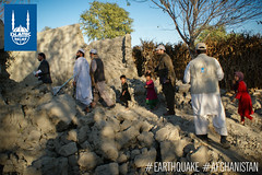 Islamic Relief team in Afghanistan assess the damage in Nangarhar, Afghanistan where reports say at least 105 people were injured.