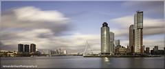 Rotterdam (janvanderveenPhotography) Tags: newyork water netherlands skyline rotterdam montevideo maas hotelnewyork erasmusbrug bulding zoudholland
