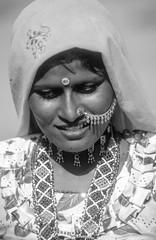 Rajasthan, Thar desert : portraits #25 (foto_morgana) Tags: portrait people woman india mujer asia character femme jewellery nosering frau portret nikoncoolscan analogphotography vrouw choker rajasthan traditionalculture juwelen joaillerie thardesert persoonlijkheid karakter analogefotografie vuescan nomodelrelease caractre photographieanalogue editorialonly joyria