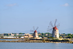 Windmills and Salt Pans of Trapani (Lee Rudd Photography) Tags: italy holiday italia it sicily sicilia trapani marsala mozia mothia motya
