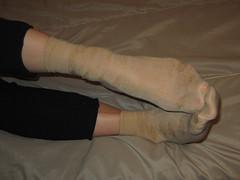 Nylon Socks (sockstargirl) Tags: sexy feet socks dirty sweaty smelly footfetish sexyfeet femalefeet sockfetish