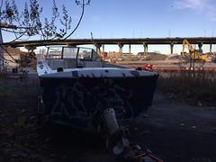 IMG_5486 (Hypurban) Tags: nyc newyork abandoned brooklyn graffiti head warehouse wax smells abandonedwarehouse brooklyngraffiti waxhead graffitiyard cash4