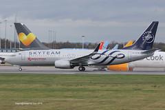 5Y-CYE - 2015 build Boeing B737-86N, departing on Runway 23R at Manchester (egcc) Tags: man manchester flight delivery boeing kq b737 ringway egcc b737800 b738 kenyaairways kqa skyteam 43408 b737ng b73786n 5669 kqa738 5ycye