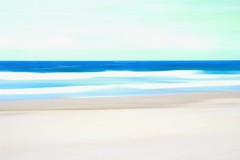Ocean blues #impressionist (Kelly Hunter) Tags: ocean art beach water sand waves australia pacificocean swell impressionist goldcoast