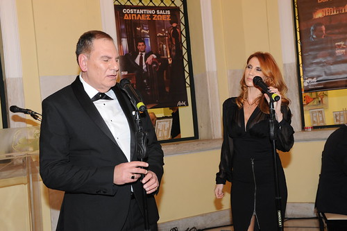 Costantino Salis και Ιωάννα Σεβοπούλου ερμηνεύουν το τραγούδι doppie Vite Δ.Ζωές