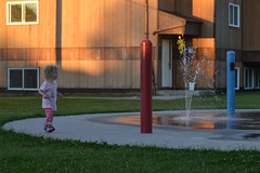 At the Splash Pad (Vegan Butterfly) Tags: people park playground spray splash water fun outside outdoor child kid cute adorable