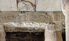 """Abydos, Temple of Sety I: The famous """"Abydos helicopter"""" (kairoinfo4u) Tags: abydos templeofsetyi egypt égypte egitto egipto abydoshelicopter"""